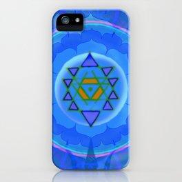 Inner Light Yantra iPhone Case