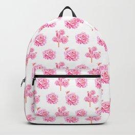Rose Pop Pattern Backpack