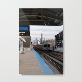 Away You Go Metal Print