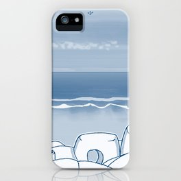 In Paradise Labyrinth Andre Bloc iPhone Case