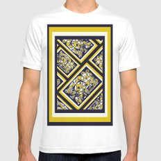 A Sister Abstract DPA150623a Mens Fitted Tee MEDIUM White