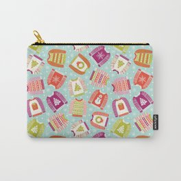 Ugly Christmas Sweaters Carry-All Pouch