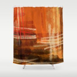 Hot summer-été brûlant- Mirage Shower Curtain