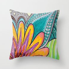 Feliz Throw Pillow