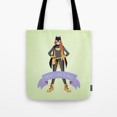 Fight Like a Girl: Batgirl Tote Bag