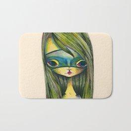 Green Girl Bath Mat