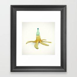 Banana Peel - Kart Art Framed Art Print