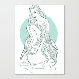 Siren Seirēn Canvas Print
