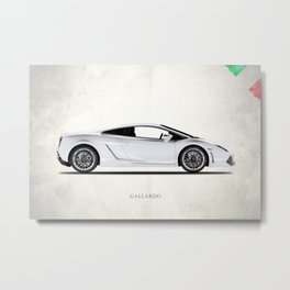 The Gallardo Metal Print