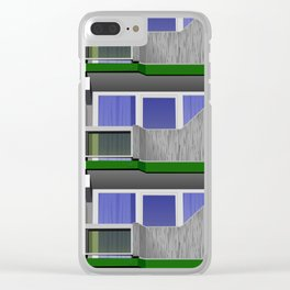 balconies Clear iPhone Case