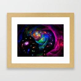 Creation of consciousness Framed Art Print