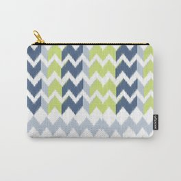 Modern Ikat Carry-All Pouch