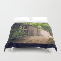 indiana jones Duvet Covers featuring Indiana Summer by Amy J Smith Photography