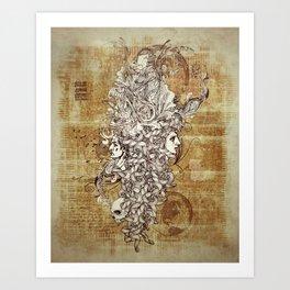 Human Rebirth Art Print
