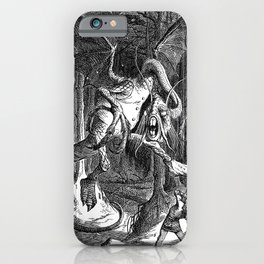 The Jabberwocky iPhone Case
