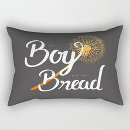Boy with the Bread Rectangular Pillow