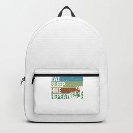 Eat Sleep Hike Repeat gb Backpack