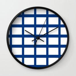 Flag of Finland 2 -finnish, Suomi, Sami,Finn,Helsinki,Tampere Wall Clock