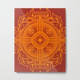 Zia Metal Print