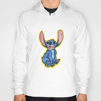 lilo and stitch Hoodies featuring Stitch by DROIDMONKEY