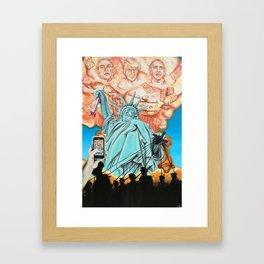 Welcome to America Framed Art Print