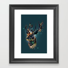 Manimals - Scythian Framed Art Print