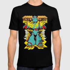 Robo Zombie Mens Fitted Tee LARGE Black