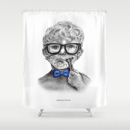 Growing up too fast Shower Curtain