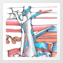 Joe's Tree Art Print