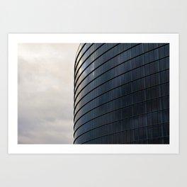 The European Parlament Art Print
