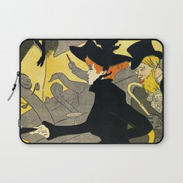 Toulouse Lautrec Divan Japonais music hall Laptop Sleeve