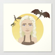 Where are my dragons? Canvas Print