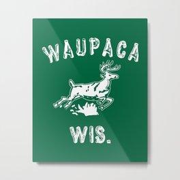 Waupaca Wis Metal Print