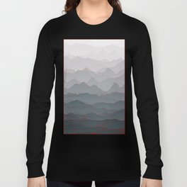 Mountains of Madness I Long Sleeve T-shirt