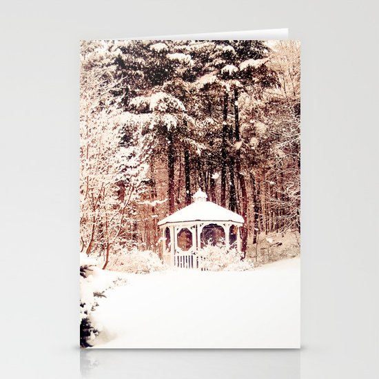 SnowEnchanted Stationery Cards