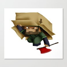 Solid Stobo Avatar Canvas Print