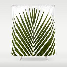 Bamboo - Tropical Botanical Print Shower Curtain
