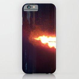 Blazing Beach Bonfire iPhone Case