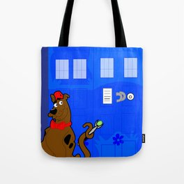 Doctor Scooby-Who Tote Bag
