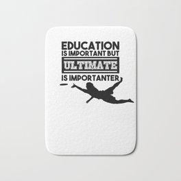 Ultimate T-Shirt I Gift Disc Sport Jersey   Bath Mat