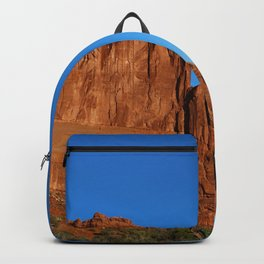 Red Sandstone Landscape of the Arches Park Backpack