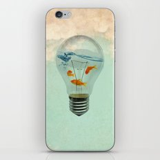 ideas and goldfish 02 iPhone & iPod Skin