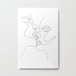 Intense & Intimate Metal Print