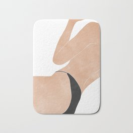 back at the beach Bath Mat