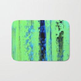 Gerhard Richter Inspired Urban Rain 2 - Modern Art Bath Mat