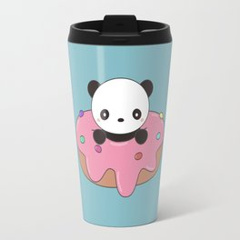 Kawaii Cute Panda Donut Travel Mug