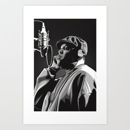 The Notorious BIG Poster Music Singer Hip Hop Rap Print Music Band Star Poster Wall Art Painting Room Home Decor Canvas Painting Art Print