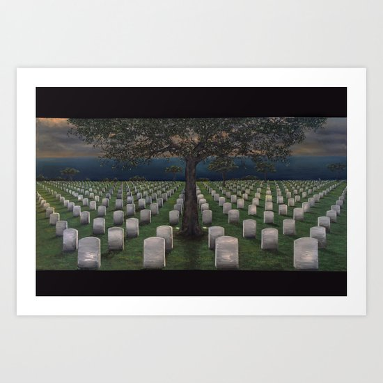 American Dream Pricetag Art Print