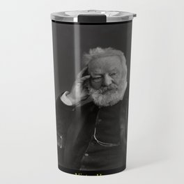 Nadar. Portrait of Victor Hugo 2 Travel Mug