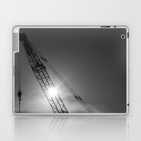 crane spotting... Laptop & iPad Skin